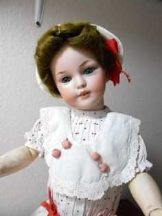 "RARE SIMON HALBIG UNMARKED PROTO TYPE 1279 15"" CUTIE WITH A REPAIR BUT SUPER   eBay"
