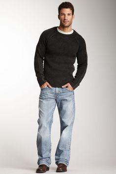 Silver Jeans Zac Straight Leg Jean