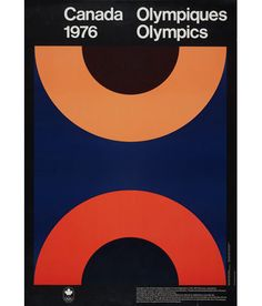 """CLAUDE TOUSIGNANT """"MONTREAL 1976"""" OLYMPIC POSTER from Caviar 20"""