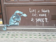 Amazing Street art and graffiti in Hanbury street Shoreditch, London, Life is short let's make it sweet quote. My Sunday Photo Morning Photography, Family Portrait Photography, Family Portraits, Good Morning Sunshine, Good Morning Wishes, Sunday Photos, Sweet T, Amazing Street Art, Hd Wallpaper