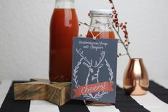Blutorangen-Sirup mit Campari - DIY Geschenke aus der Küche