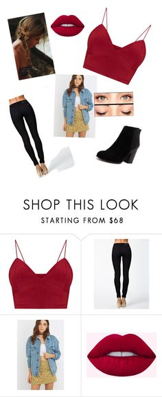 """""""Untitled #415"""" by sodapop-999 ❤ liked on Polyvore featuring Nudie Jeans Co., BDG, Lime Crime and Nude"""