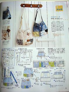 bolsos/patrones | Aprender manualidades es facilisimo.com