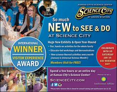 Science City has so many NEW things for your kids to learn about and engage with, while having an excitingly fun time!  // For more family resources visit www.ifamilykc.com! :)