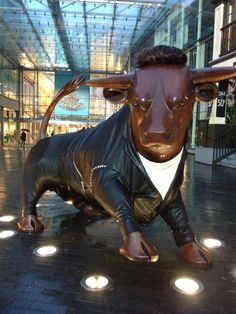 The #RockaBully #Bull in celebration of @Bullring Birmingham Birmingham Birmingham Birmingham 10th Birthday