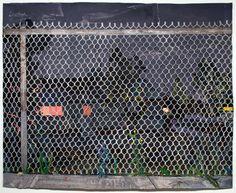 Fence by Matt Bollinger Museum Of Contemporary Art, Modern Art, Trapper Keeper, Artist Art, Aesthetic Art, Landscape Paintings, Landscapes, Impressionism, All Art