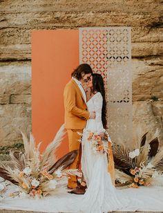 Elope Wedding, Boho Wedding, Wedding Ceremony, Dream Wedding, Wedding Dresses, Wedding Desert, Elopement Wedding, Lace Dresses, Boho Bride