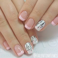 """1,004 Likes, 43 Comments - Fashion and Beauty Influencer (@valentinelewis) on Instagram: """"New nails by @studiofrench.haifa # # more in #stories  #nails #nail #nailart #nails…"""""""