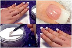 DIY Acrylic Nails ♡ Easy & At Home!