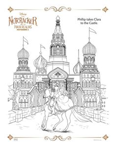 free printable coloring sheets and activity sheets for disneys the nutcracker and the four realms a fun and easy activity for kids and adults
