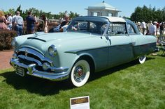 1953 Packard Monte Carlo Coupe by Henney (Blue)