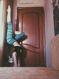 гимнастика в шкафу добавил мыла