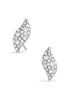 Hampton Earrings with Diamonds