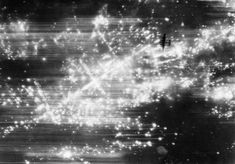 This is a vertical photograph taken from 19,000 feet during a night raid on Hanover, showing an Avro Lancaster, silhouetted by the many incendiary fires below. That night 3,932 buildings were totally destroyed, and more than 30,000 damaged in varying degree, by the intense conflagration in the central and south central districts of the city resulting from this attack.  [Photo by No. 460 Squadron RAAF © IWM (C 3898).]