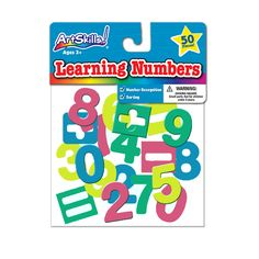 Learning Numbers are great for practicing all types of math problems!  Available exclusively at Dollar General for just $1!