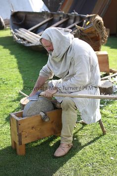 The Vikings of Largs - Anniversary Vikings Live, Norse Vikings, Wood Router, Wood Lathe, Cnc Router, Norse Legend, Medieval Crafts, Viking Culture, Blacksmith Tools