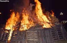 Έκαψαν τον Καρνάβαλο στο Μακροχώρι (φωτογραφίες, βίντεο)