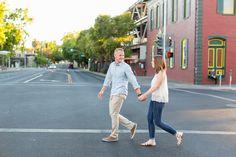 A downtown Chico California Engagement by TréCreative Film&Photo http://trecreative.com/