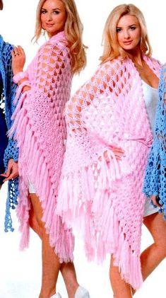 Shawl Archives - Beautiful Crochet Patterns and Knitting Patterns Crochet Shawl Diagram, Crochet Scarf Easy, Crochet Shawl Free, Crochet Shawls And Wraps, Crochet Scarves, Crochet Clothes, Crochet Stitches, Beau Crochet, Pull Crochet