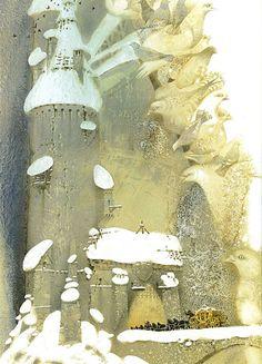 Pavel Tatarnikov | WATERCOLOR | The Snow Queen