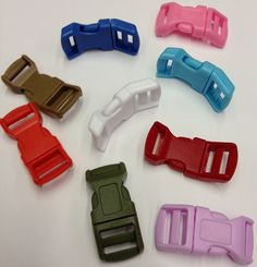 "1/2"" Small Wrist Band Plastic Buckles"