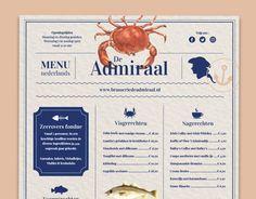 "Echa un vistazo a este proyecto @Behance:""The Admiral - Restaurant Branding"" https://www.behance.net/gallery/57774759/The-Admiral-Restaurant-Branding"