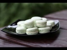 Мятные макаруны - простой рецепт с фото и видео