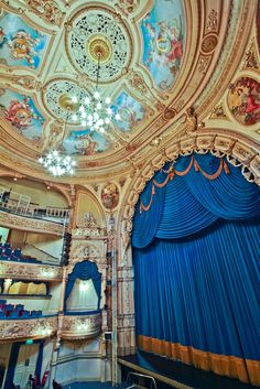 The Grand Theatre Blackpool Stage View
