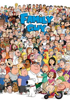 Family Guy Interactive Poster. Just click the picture and hover over the character.