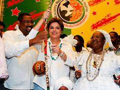 I P A N G U A Ç U            A G O R A: Não duvide que Dilma visita as casas de Xangô