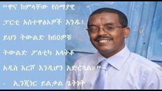 """ኢንጂነር ይልቃል ስለሰማያዊ ፓርቲ ቀጣይ ዕጣ ፈንታ ተናገሩ - """"ውስጥ ሆነን እንታገላለን"""" Ethiopian Music, News"""