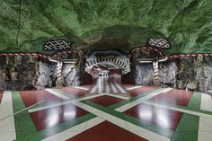 Stockholm Metro by Christian Aslund