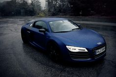 Navy Blue Audi R8