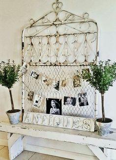 Love this junk to treasure idea...