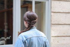 #Tresse en #épi #headband - #Fishbraid via @thereporthair #Hairstyle