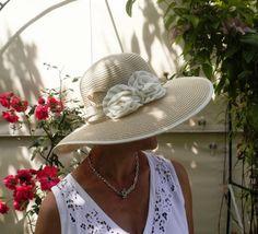 Cappello Da Donna Di Paglia Elegante in 5 Colori Vacanza Occasione Paglietta