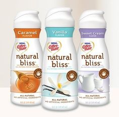 Homemade Coffee Creamer- aha! I've been wanting to make my own! Natural Coffee Creamer, Homemade Coffee Creamer, Coffee Coupons, Weight Watchers Snacks, Weigh Watchers, Best Beans, Vanilla Flavoring, Morning Coffee, Dupes