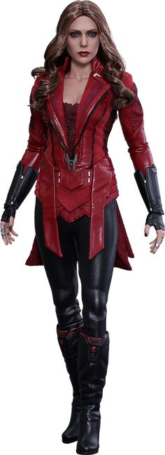 Hot Toys Scarlet Witch New Avengers Version Sixth Scale Figure