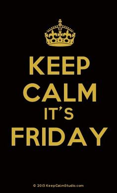 Hoje é sexta!!