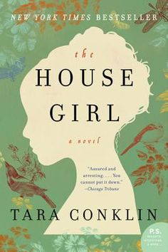The House Girl by Tara Conklin - Josephine, an African American house girl before the turn of the century & Lina, a white NYC lawyer & how their stories ultimately intertwine. Lina has been assigned a case about reparations for families who's ancestors were slaves & she is given the task of finding a modern day plaintiff. The House Girl takes you back in time & makes you wonder about other things that slave owners may have gotten credit for, when the credit was really due to their slaves.