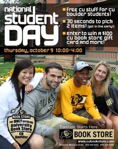 Check out how @cubookstore celebrated National Student Day 2014.