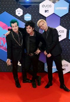 Green day @ EMAs tonight!!
