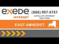East Amherst satellite internet - Exede Internet packages deals and offers best internet service provider in East Amherst New York.