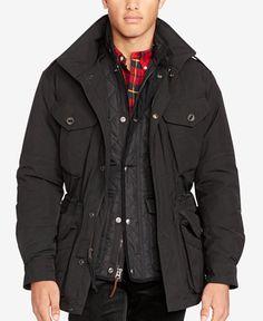 Polo Ralph Lauren Men\u0027s Down Combat Jacket
