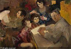 MALIAVIN Filip Andreevich - Self-Portrait with Family
