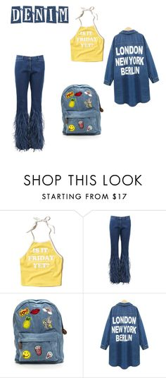 """""""DENIM LOVER"""" by daniduh03 ❤ liked on Polyvore featuring Hollister Co. and Michael Kors"""