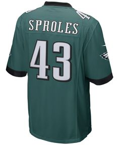 Nike Men's Darren Sproles Philadelphia Eagles Game Jersey