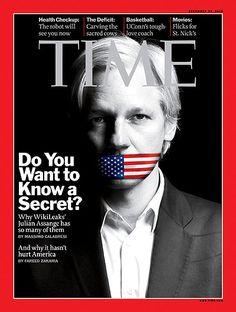 WikiLeaks創設者ジュリアン・アサンジ TIME誌による2010年のパーソン・オブ・ザ・イヤーに選ばれた。