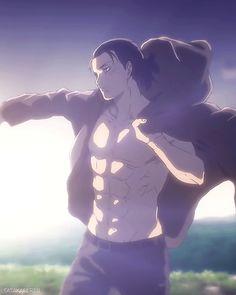 Eren Yeager season 4 Anime Boys, Hot Anime Boy, Cute Anime Guys, Otaku Anime, Manga Anime, Attack On Titan Season, Attack On Titan Eren, Attack On Titan Fanart, Fanarts Anime
