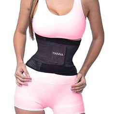 41734e64e81e5 YIANNA Waist Trimmer Belt Back Support Adjustable Abdominal Elastic Waist  Trainer Hourglass Body Shaper     Details can be found by clicking on the  image.
